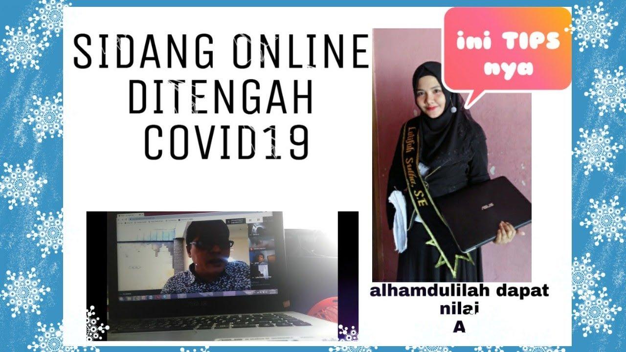 Sidang Skripsi Online Youtube