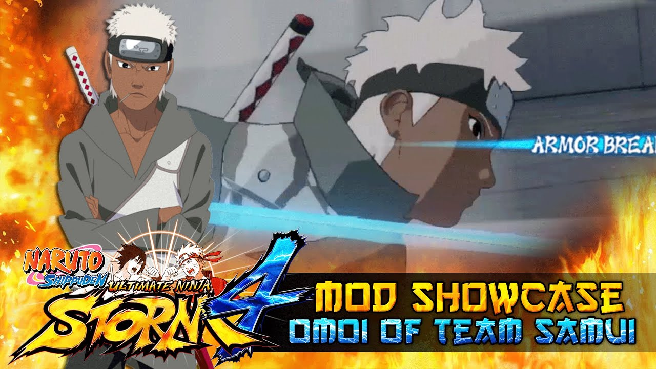 Omoi the 5th Raikage's Body Guard!!! Naruto Shippuden Ultimate Ninja 4 Mod!!! - YouTube