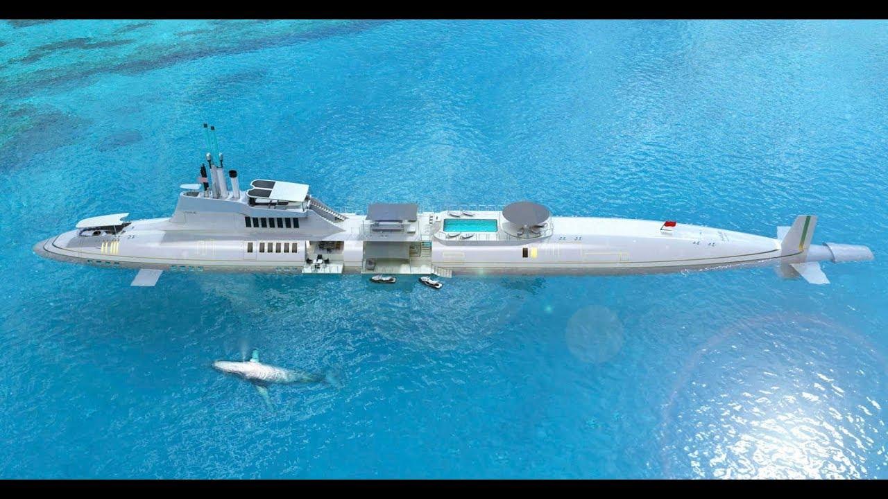 Самые необычные частные подводные лодки