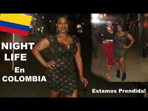 "Night Life IN COLOMBIA | IT""S LIT!  #BlackColombians VLOG parte 2"