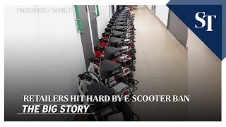THE BIG STORY: Retailers hit hard by e-scooter ban | The Straits Times