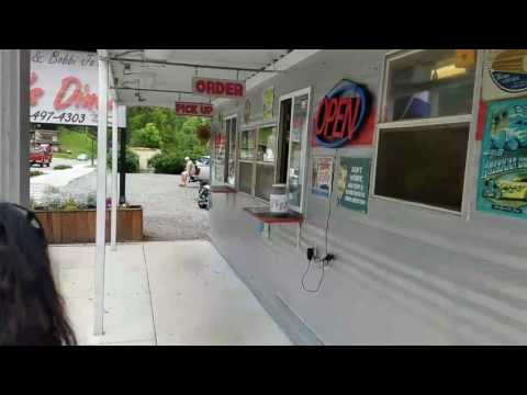 Cherokee North Carolina Roadside Burger Stand And Gem Mine