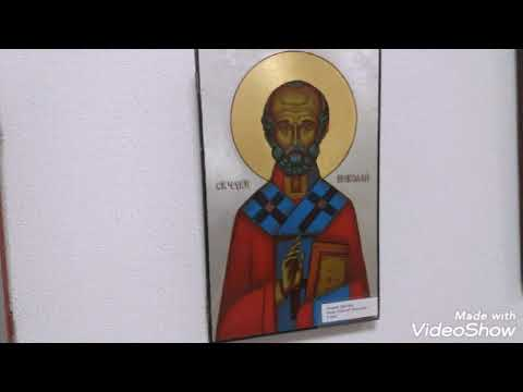 Посетили с дочкой Музей, выставку современной украинской иконы  и вышитые иконы.