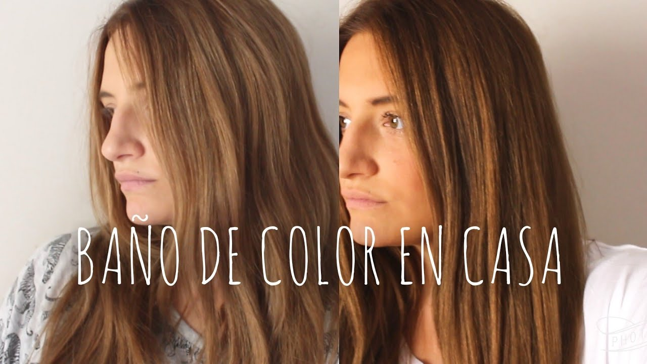 CMO hacer un BAO DE COLOR con TINTE NORMAL  Sara Bruno