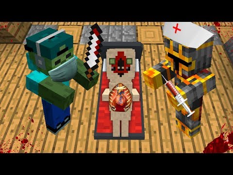 MARK FRIENDLY ZOMBIE AND MC NAVEED BECOME DOCTORS AND OPERATE ON SCP 096 MOD !! Minecraft Mods
