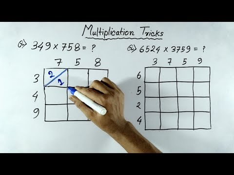 Fast Multiplication Tricks Of Any Numbers (In Hindi) | Multiplication Shortcut Tricks