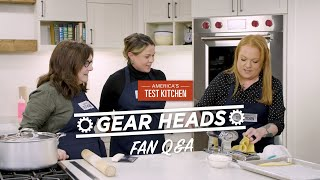 Gear Heads | Lisa McManus Answers Your Questions About the Pasta Equipment Episode!