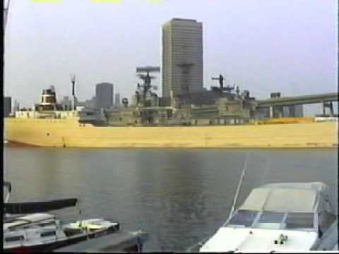 Cement freighters in Buffalo 1994