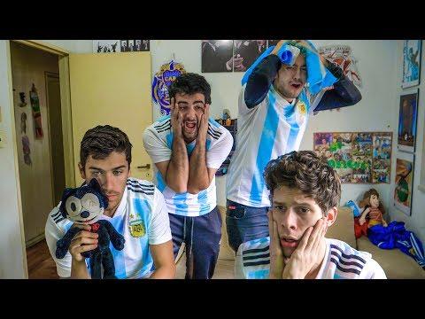 Argentina 3 Francia 4    2018 Mundial Octavos   Reacciones de Amigos