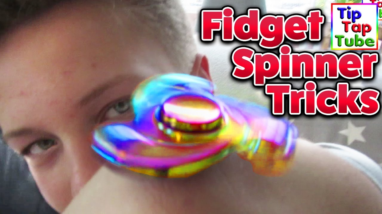 fidget spinner tricks tiptaptube spielzeug youtube. Black Bedroom Furniture Sets. Home Design Ideas