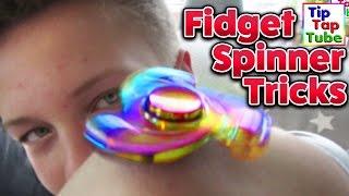 FIDGET SPINNER TRICKS   TipTapTube Spielzeug