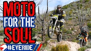 Motorcycles are GOOD FOR YOU! 4 Benefits of Riding Off Road #everide