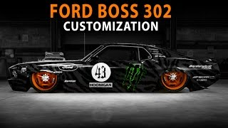 Midnight Club LA - Ford Boss 302 (Customization)
