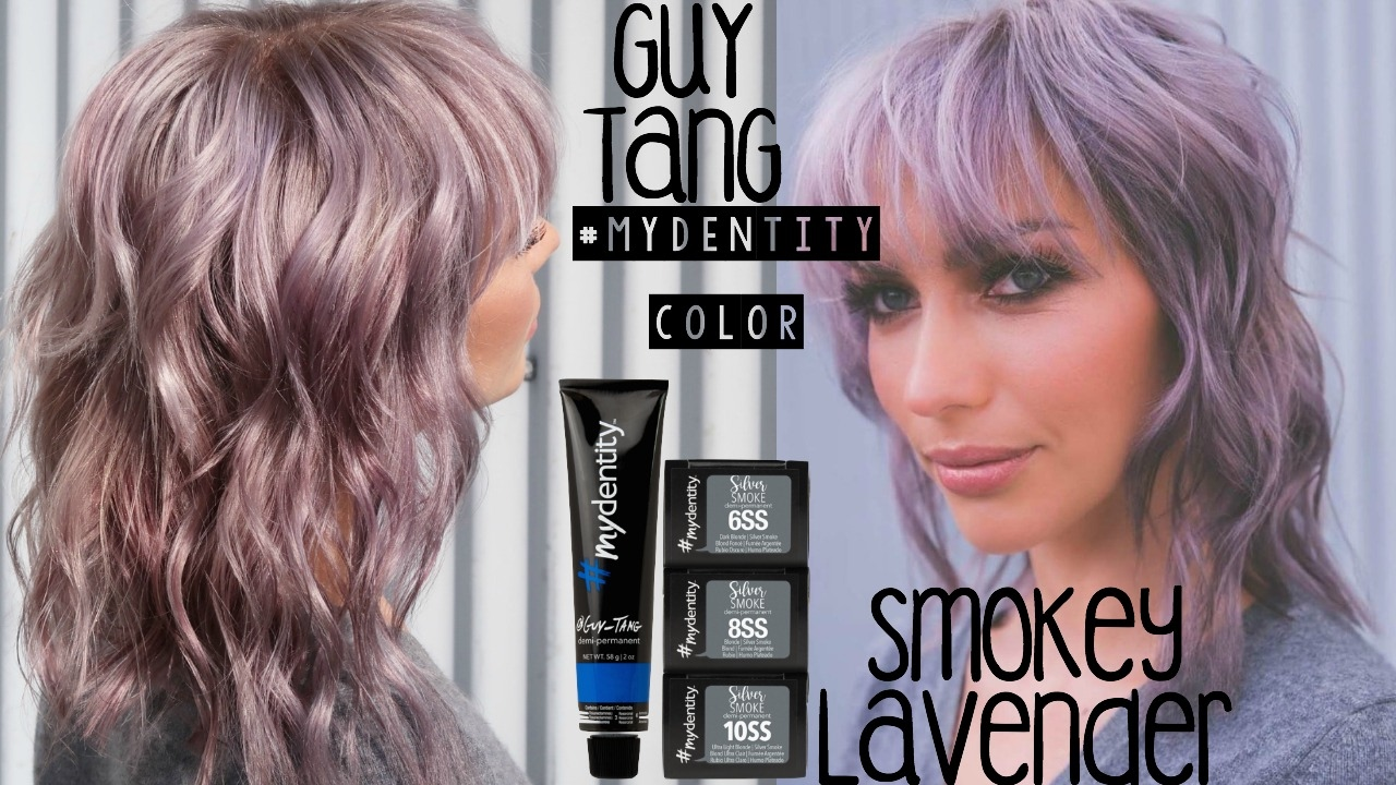 Smokey Lavender Hair Color Ft Guy Tang S Mydentity Color