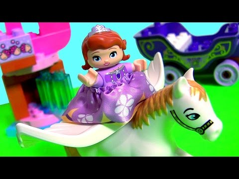LEGO DUPLO Sofia The First Magical Carriage Minimus the Great 10822 Disney  Preschool Kids Blocks