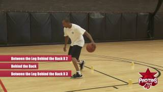 Sebastian Telfair: Insane Cone Drill to Improve Ball Handling
