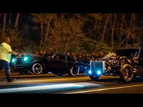 Wheels Up On The STREET! This Nitrous Vega Is A Little Beast!