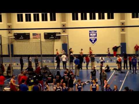 Jacksonville IL, indoor track meet open 800