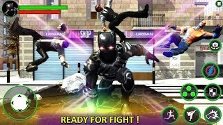 Impossible Fighting Hero Panther SuperHero Street Part-1 | New Android Game | By Game Crazy