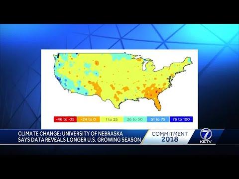 Climate change: University of Nebraska says data reveals longer U.S. growing season
