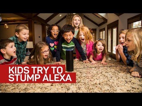 Kids try to stump Alexa