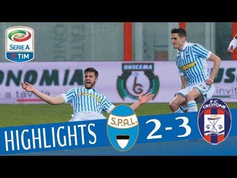 Crotone - Spal 2-3 - Highlights - Giornata 26 - Serie A TIM 2017/18