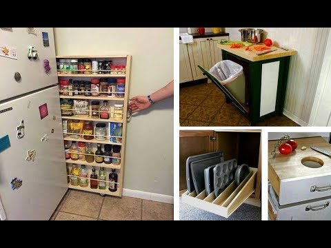 60 + Space Saving Ideas For Kitchen Creative Ideas 2018 - Home Decorating Ideas