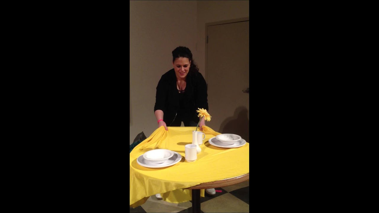 Table cloth trick youtube for Table 6 trick