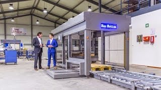 New-Motion, developing a gantry robot palletiser