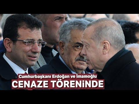 Cumhurbaşkanı Erdoğan ve İmamoğlu Cenaze Namazında Bir Araya Geldi