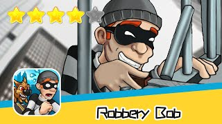 Robbery Bob HIGH RISE Level 13 Walkthrough Prison Bob Recommend index four stars