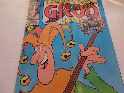 Download 1989 Sergio Aragones GROO Comic Book-Auction Find