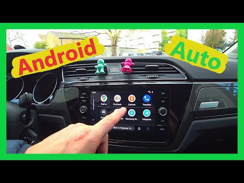 Android Auto на Discover Media VW Touran 5T 2018