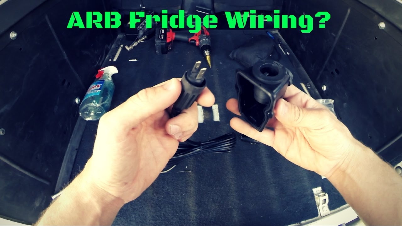hight resolution of arb fridge wiring kit review and install