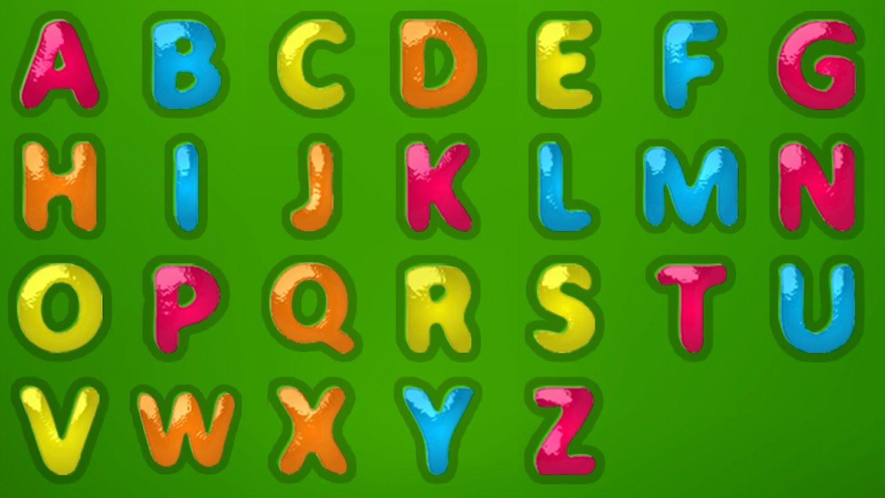 ABC SONG und Lernen, Brief von A bis Z zu schreiben Wie man A bis Z ...