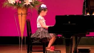 カワイ音楽教室ピアノ発表会 きょうちゃん.