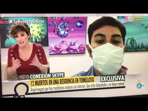 VÍDEO | El director de la residencia 'Elder' habla en Telecinco de las muertes por coronavirus en su centro