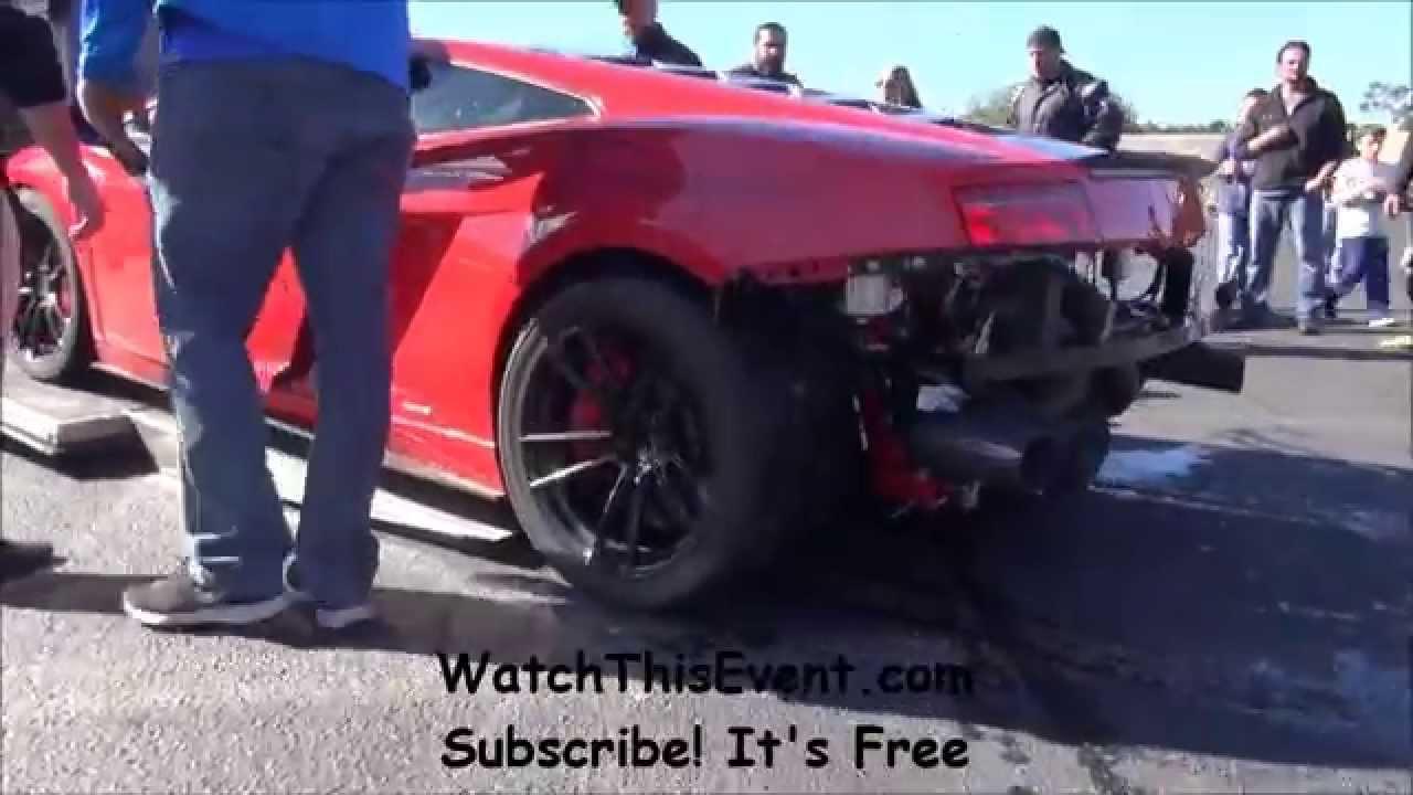 Lamborghini Crashes   YouTube