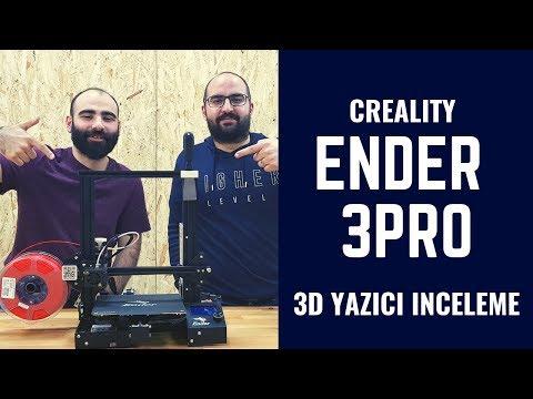 Creality Ender 3 Pro 3 Boyutlu Yazıcıyı İnceledik! 3Dörtgen'den Doğukan Bizlerle! :)