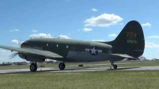 "Curtiss C-46 Commando ""Tinker Belle"" - WWII Weekend 2014"