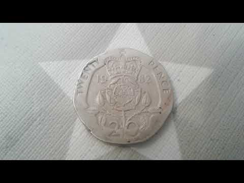 1982 Twenty Pence Coin Value In U.S Dollars
