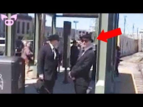 Real Men in Black Sightings Caught on Camera