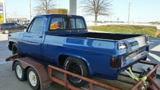 The C10 Replacement Truck Project - 87 Chevrolet Truck R10 TBI