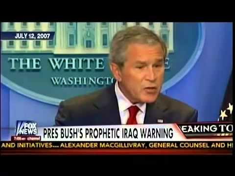 Bush Warned Withdrawal Would Turn Iraq Into Terrorist State
