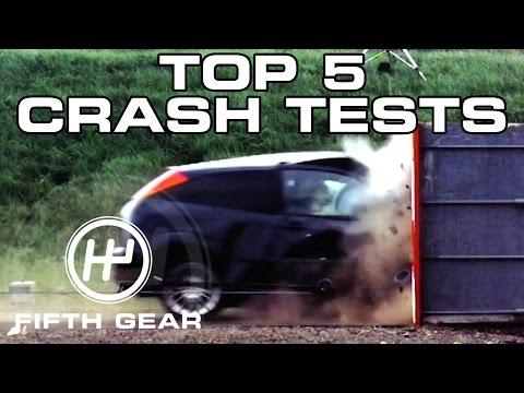 Top 5 Crash Tests - Fifth Gear