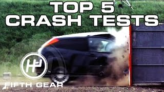 Top 5 Crash Tests - Fifth Gear