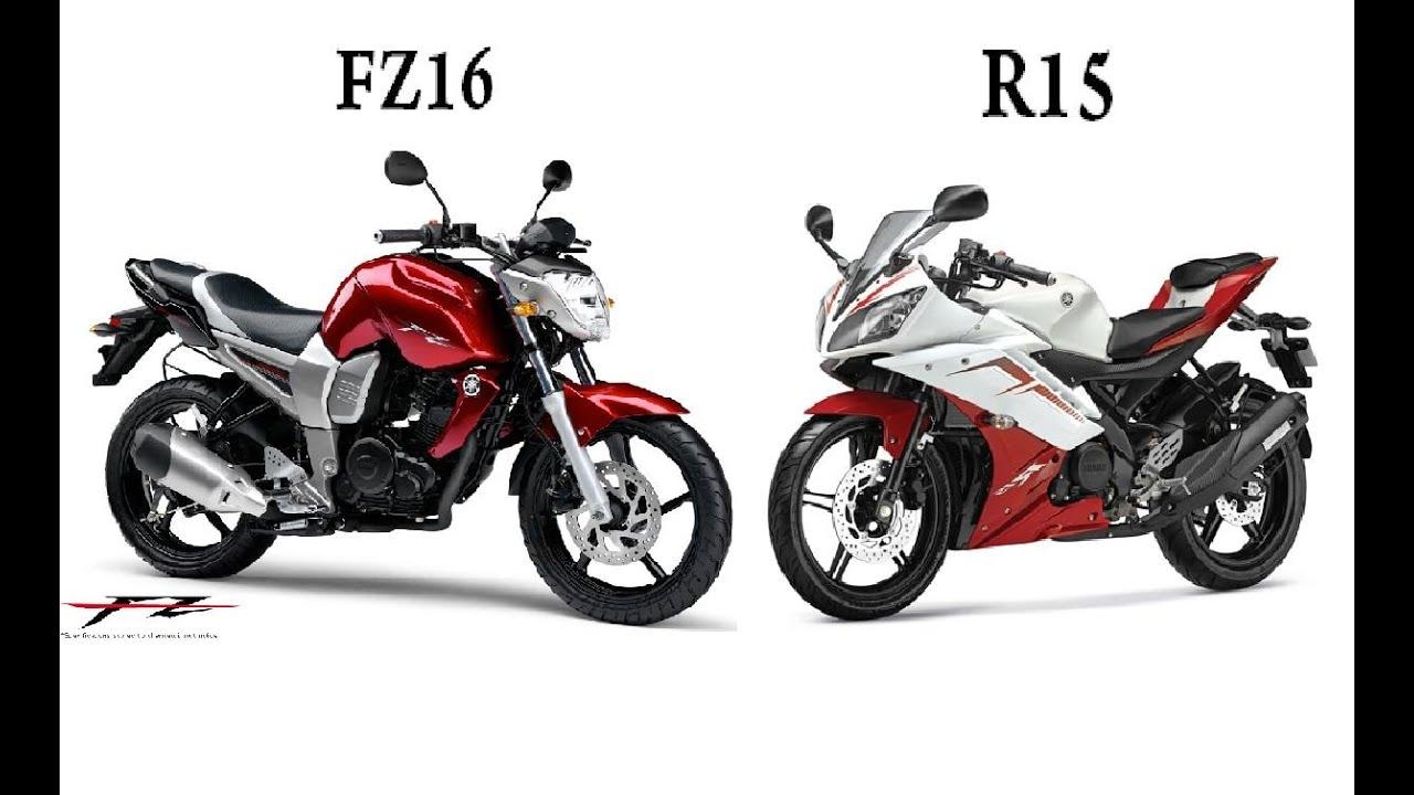Yamaha fz16 vs yamaha r15 comparacion youtube for Yamaha 221 vs 222