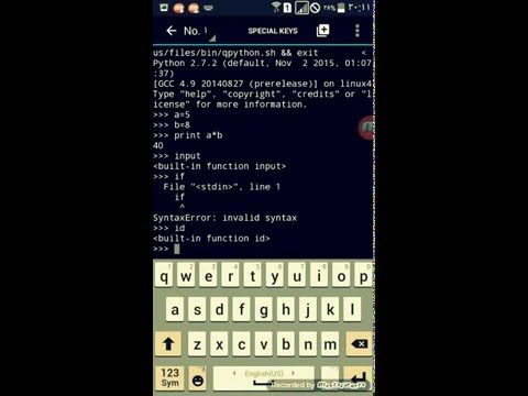 Repeat Run Python On Android by AGR Technology - You2Repeat