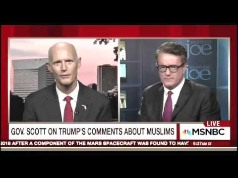Gov Rick Scott's Interview on Morning Joe Ends Abruptly