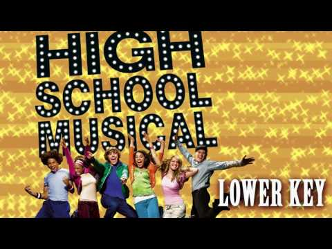 High School Musical - Breaking Free (Lower Key)
